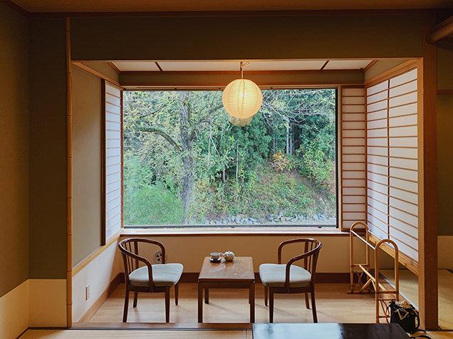 嵐渓荘の客室