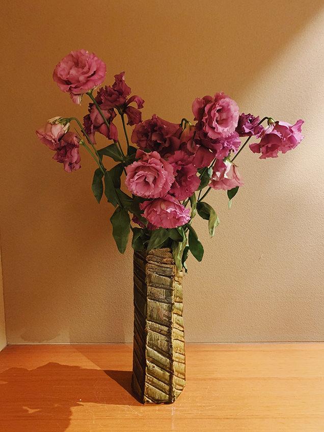 嵐渓荘に飾られた花