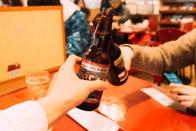 カナダ・ユーコン準州産のビール