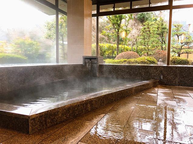 ひだ山荘の浴室