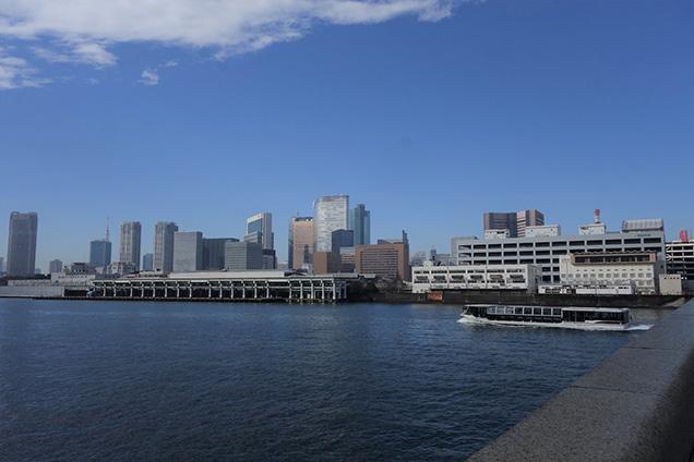 東京半日サイクリングツアー 築地市場跡地