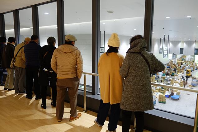 豊洲市場見学ツアー