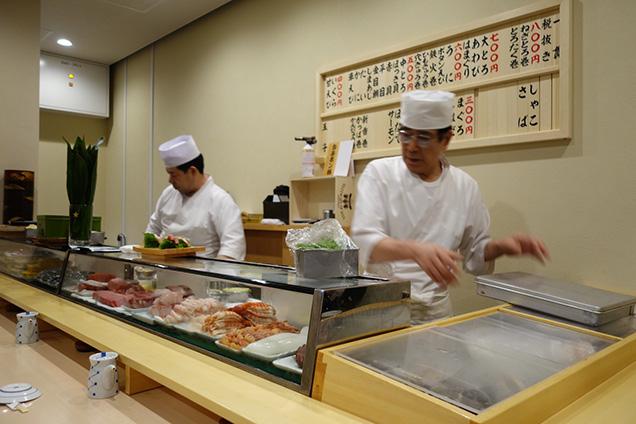 豊洲市場 グルメ 磯寿司
