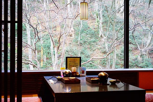 原瀧の朝食