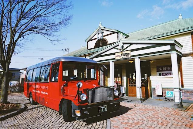 七日町駅 駅舎