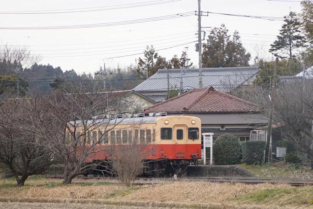 小湊鐵道 キハ200形気動車 上総鶴舞駅