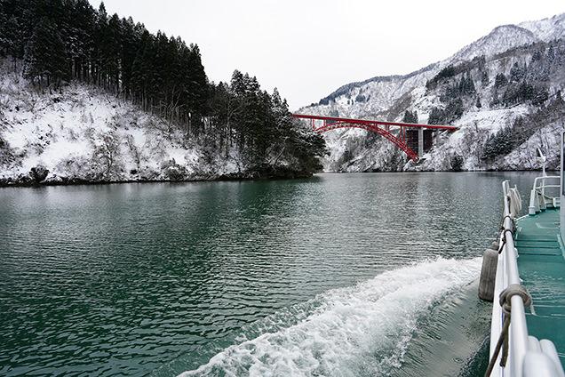庄川峡 利賀大橋