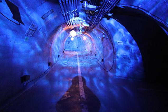 袋田の滝 トンネル内