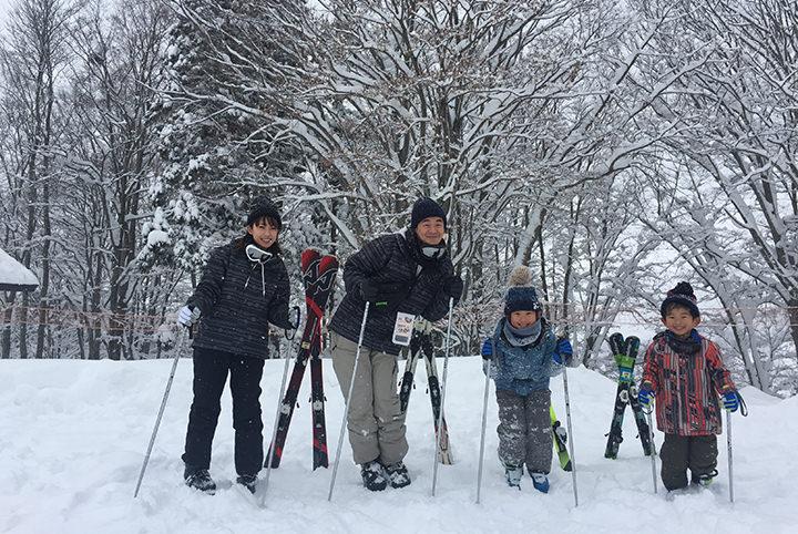 家族で行くとこんなに楽しい!恐妻家ライター5歳一家が初めてのスキーへ