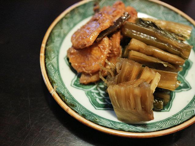 稲刻菜の漬物
