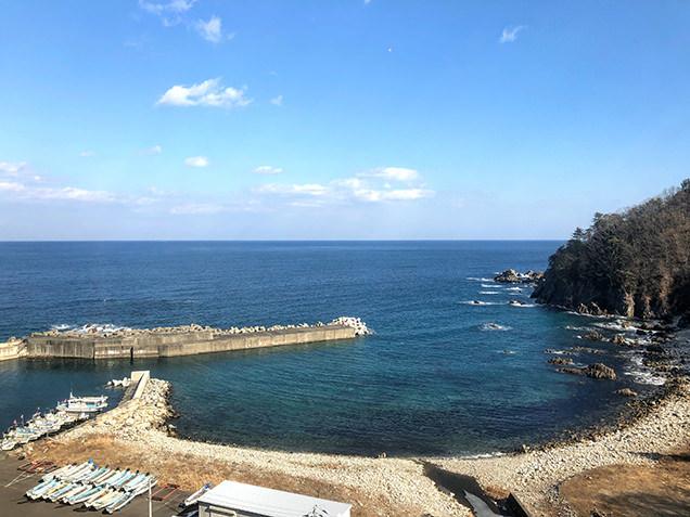堀内駅近辺の海岸