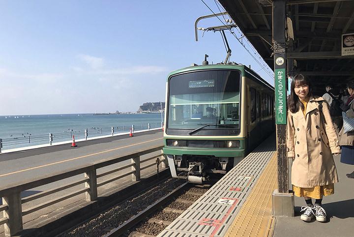 ママ鉄&子鉄が江ノ電に大興奮。海・駅・列車の絶景に出会う旅