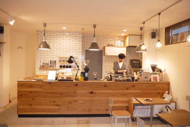 BOUND COFFEE店内