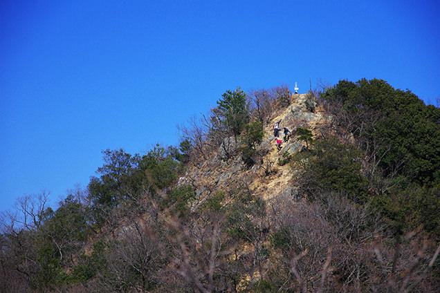 妙義山の頂
