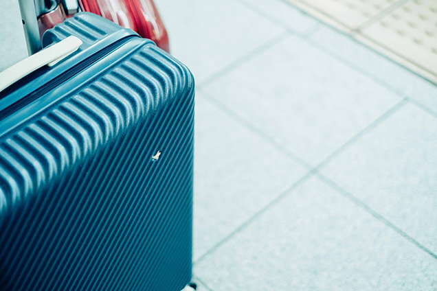 筆者のスーツケース