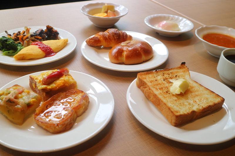 筆者の朝食
