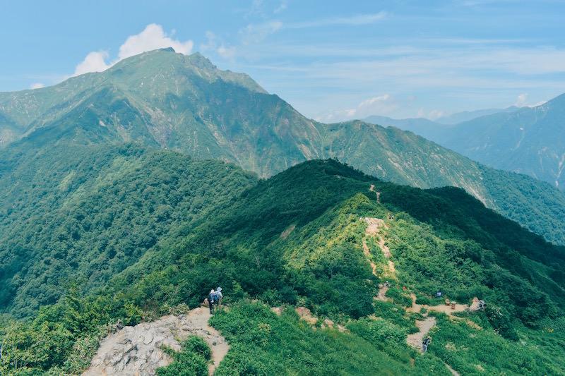 天神峠山頂から見える景色は、まさに絶景!