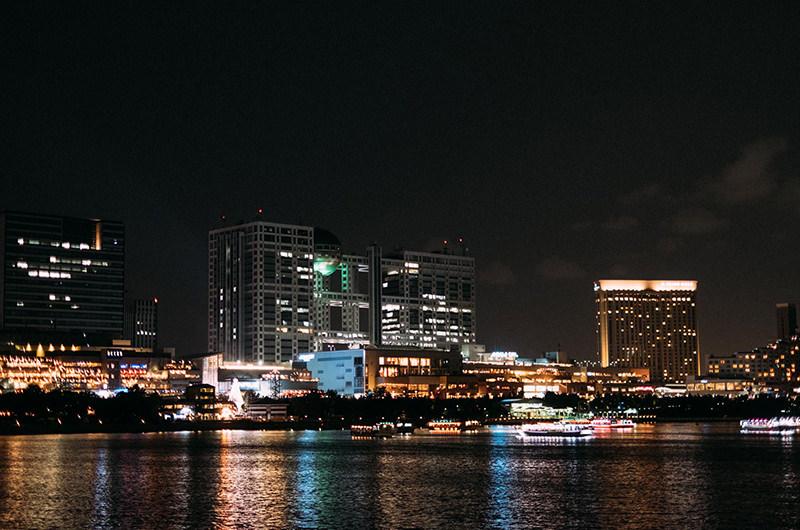 台場公園からの夜景