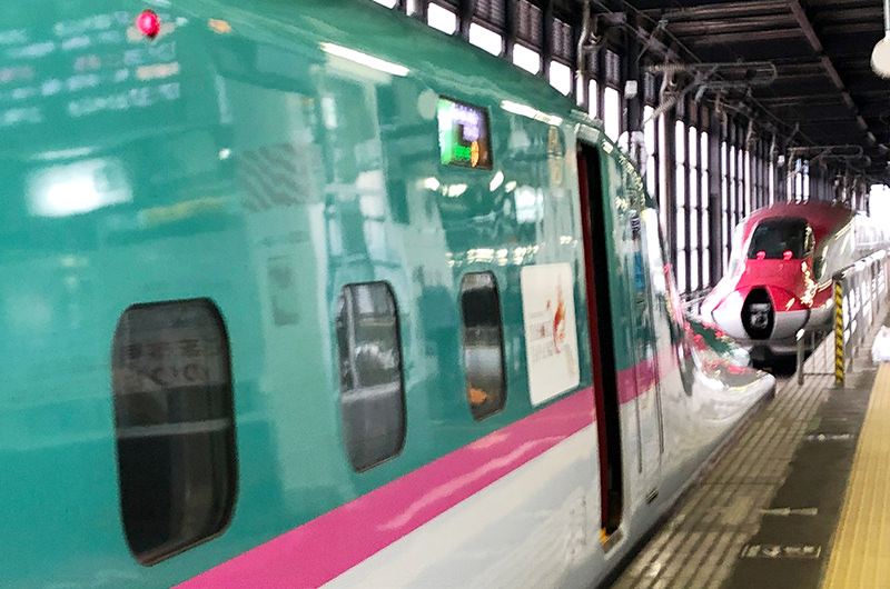 東北新幹線と秋田新幹線の切り離し