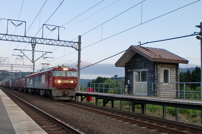 津軽今別駅(新幹線開業前)