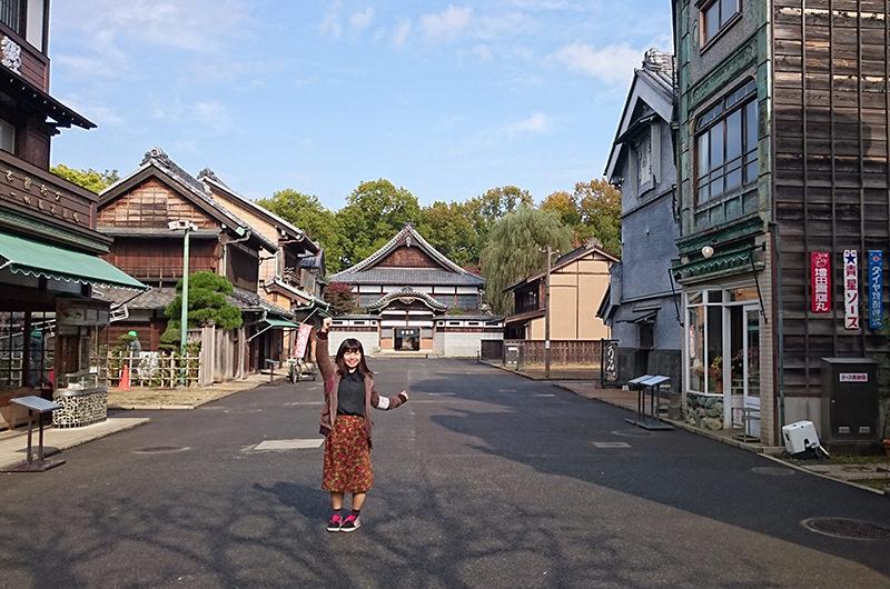 江戸東京たてもの園内街並み