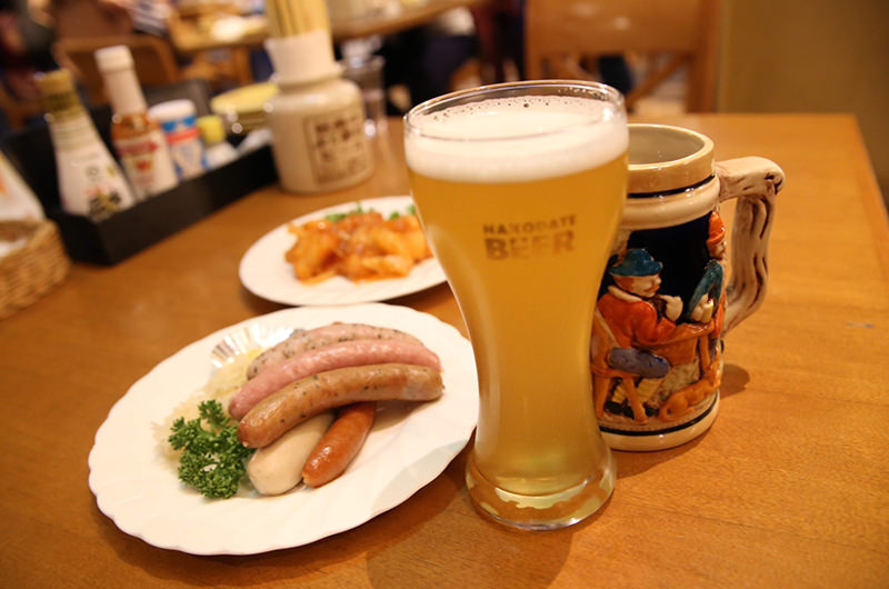 「五稜の星」と「社長のよく飲むビール」