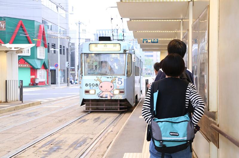 函館駅前電停