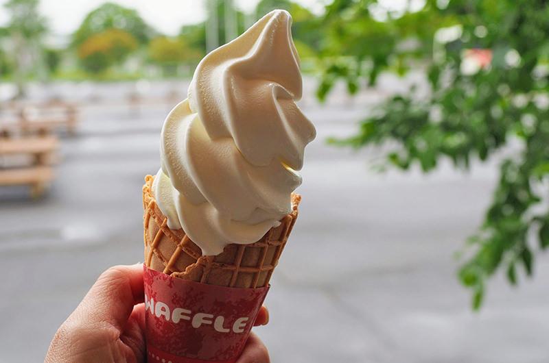 ブラウンスイスソフトクリーム