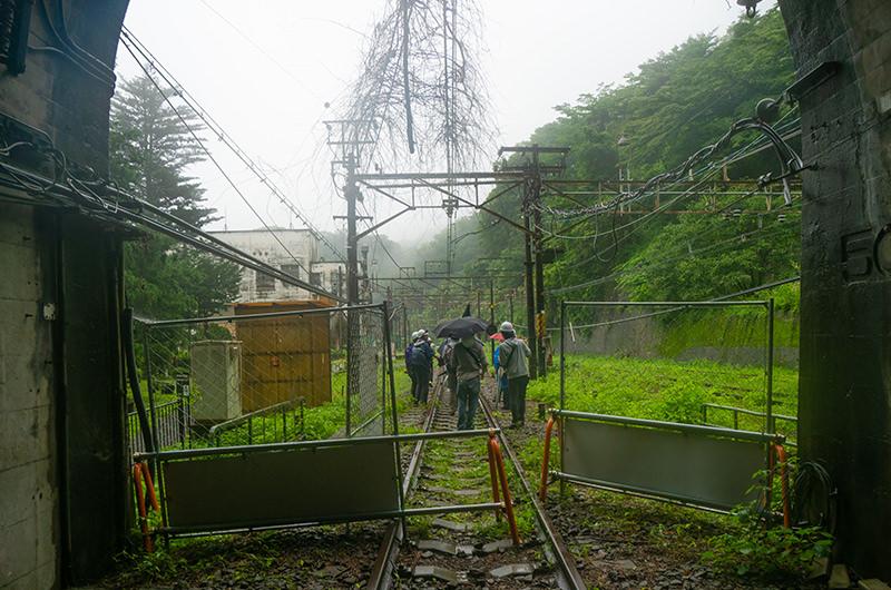 第3号トンネル出口