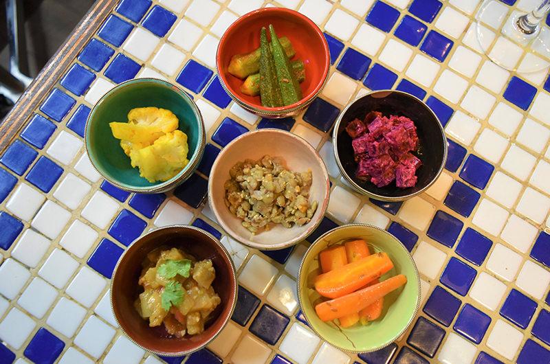 6種のモロカンサラダ