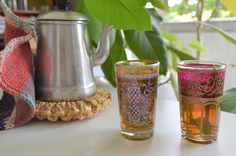 ファティマ モロッコ トーキョーで購入したグラス