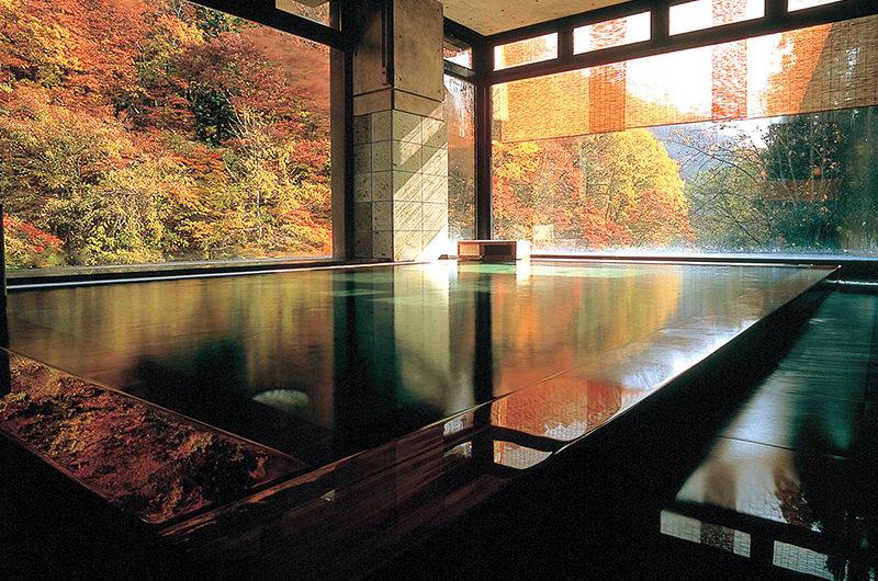 大浴場「山水の湯」