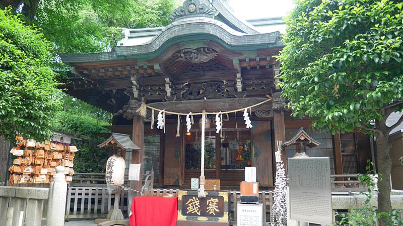 小野照崎神社本殿