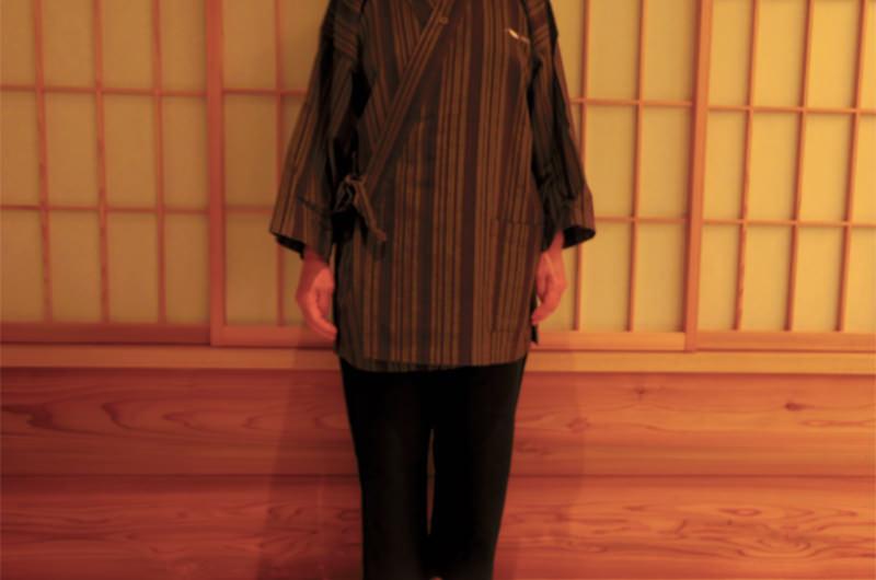 館内着の作務衣