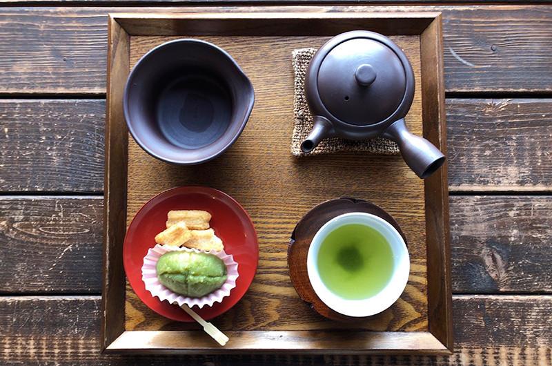 お茶と甘味