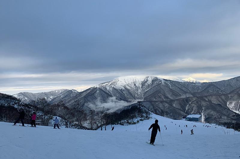 山頂からの美しい景色