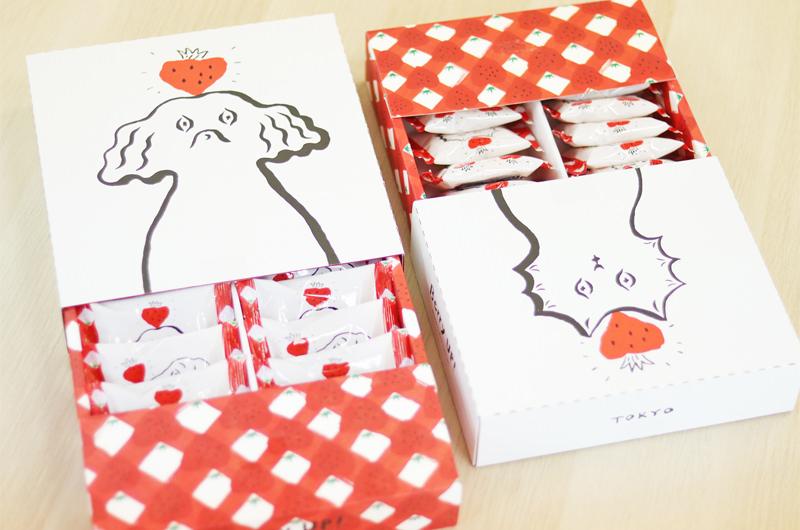 いちごサンドクッキー&いちごポルボローネ Berry UP!