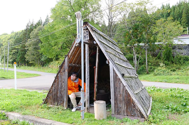 マタギ小屋