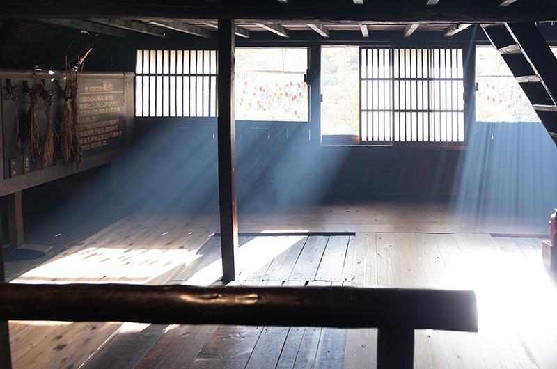 旧中野長治郎家住宅二階