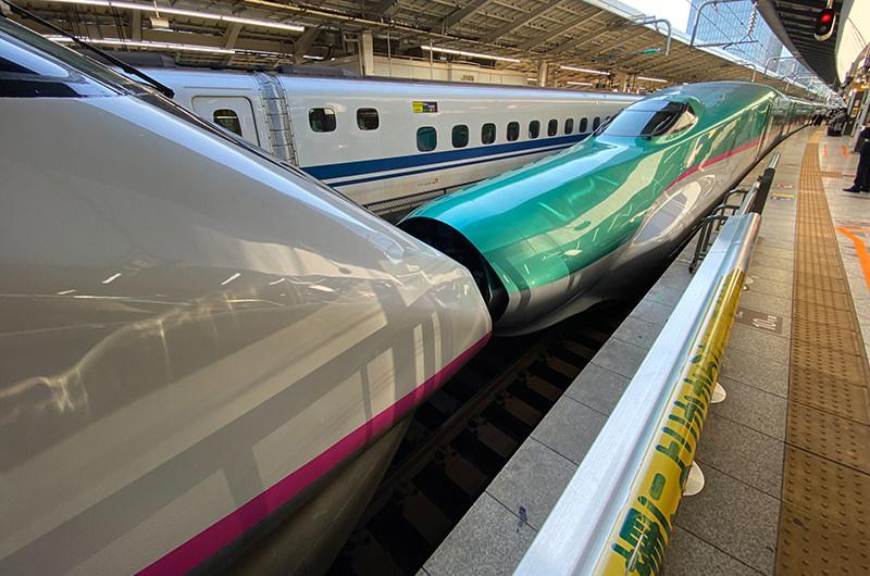 東北新幹線「なすの253号」