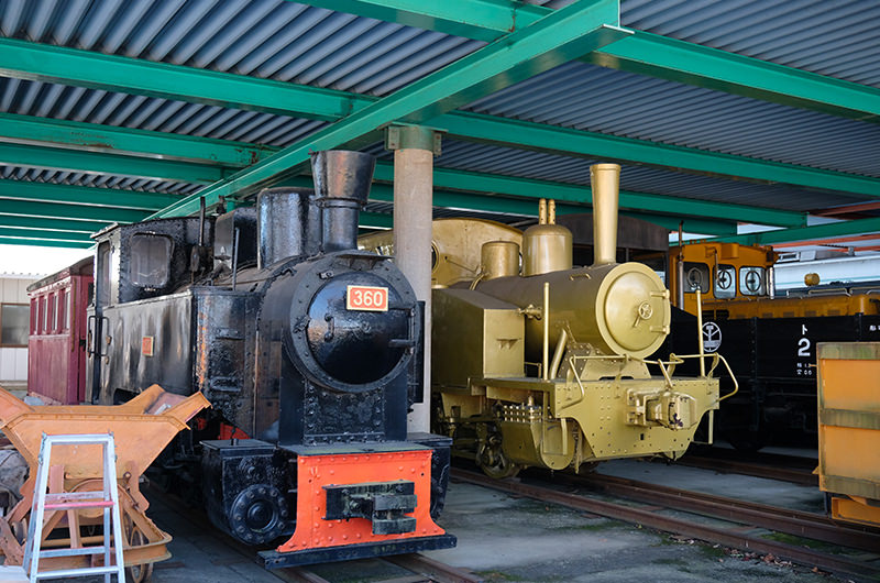 レアな蒸気機関車