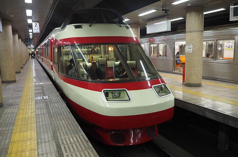 長野電鉄特急車両「ゆけむり」