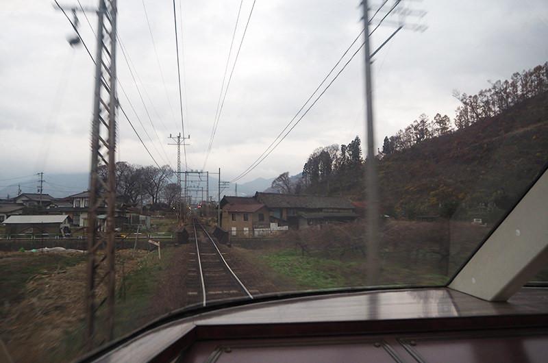 長野電鉄からの車窓