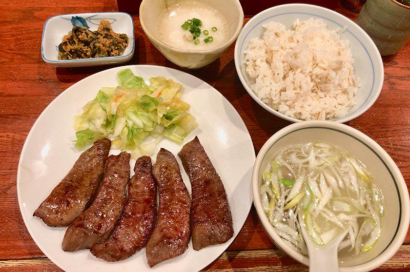 Aたん焼き定食