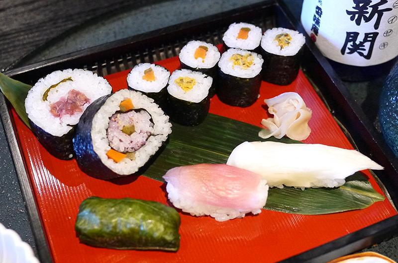 漬物寿司セット