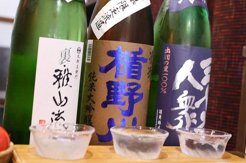 日本酒三種飲み比べセット