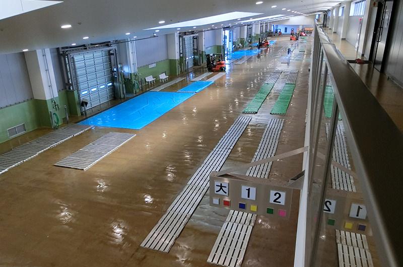 銚子漁港第1卸売市場