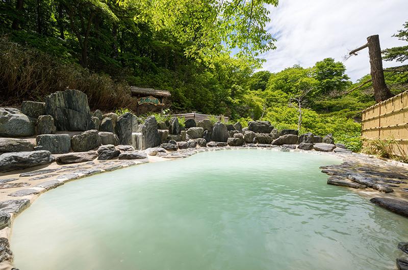 野地温泉ホテルの露天風呂