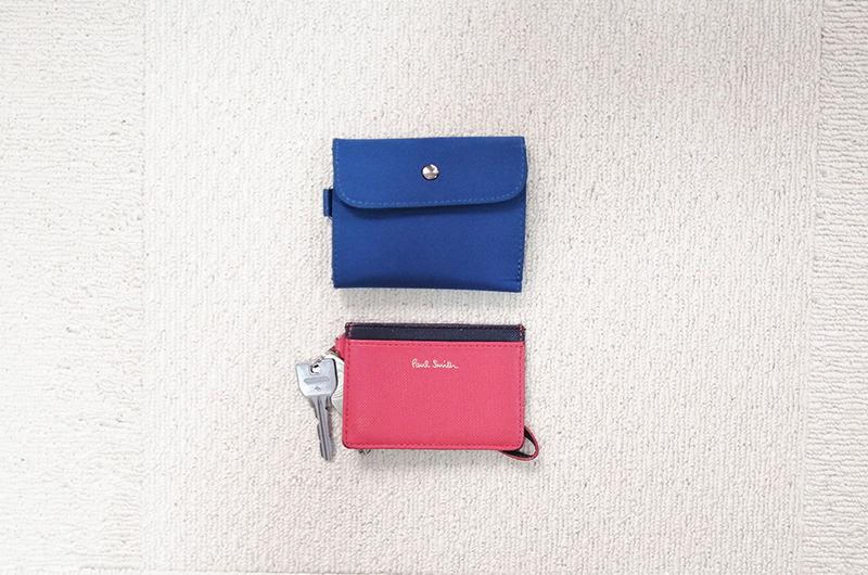 パスケースと財布