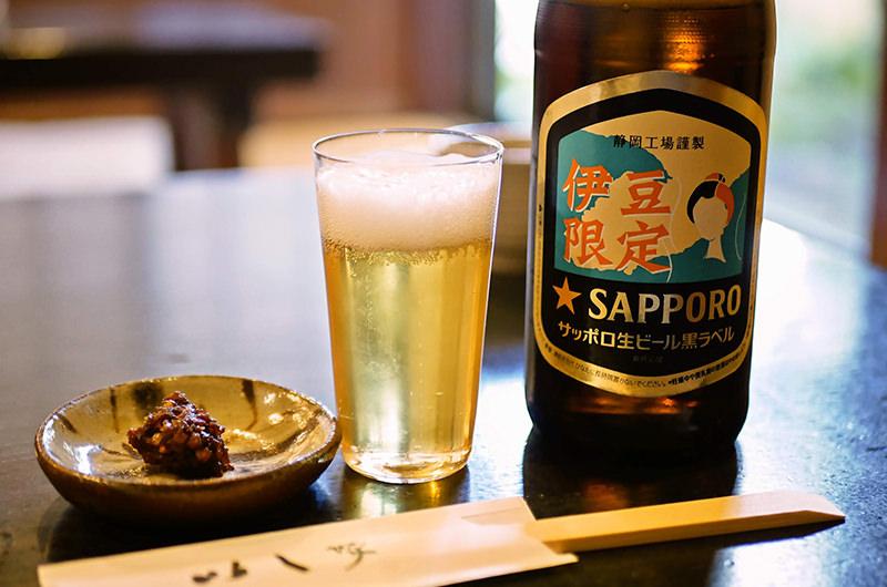 伊豆限定のサッポロビール
